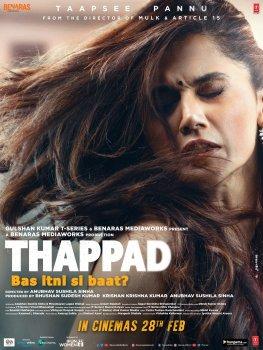 Thappad film poster