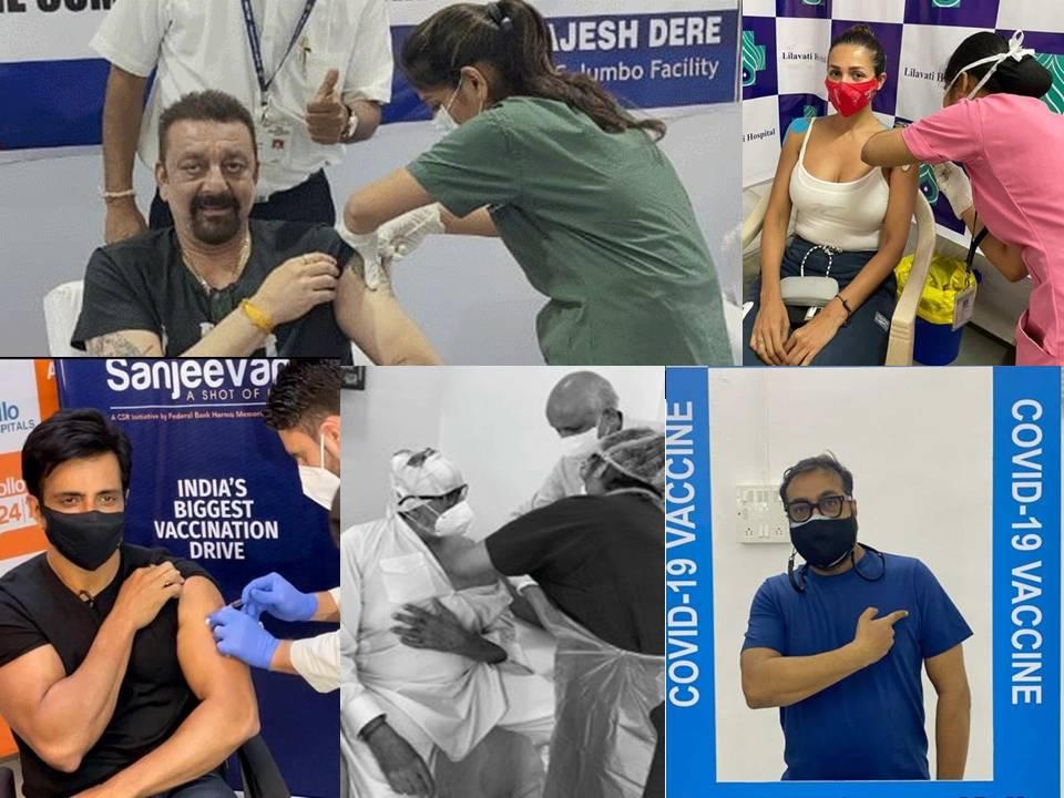 Famosos de Bollywood que han recibido la vacuna COVID-19