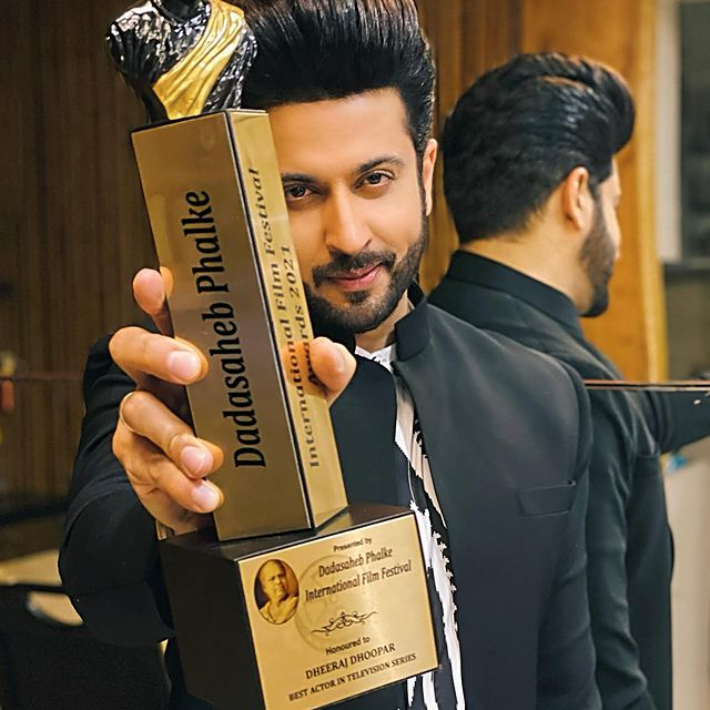 Premio Dadasaheb Phalke 2021 Dheeraj Dhoopar