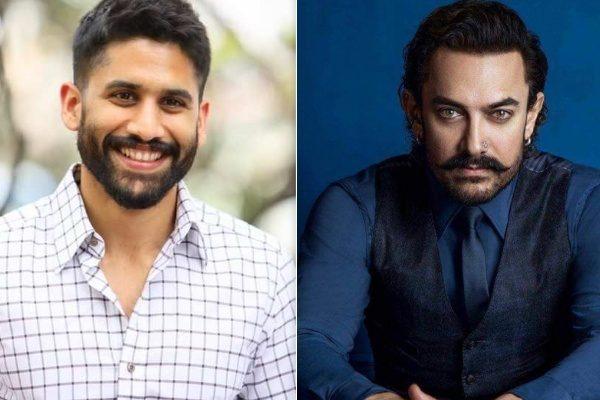 Aamir Khan y Naga Chaitanya - Laal Singh Chaddha