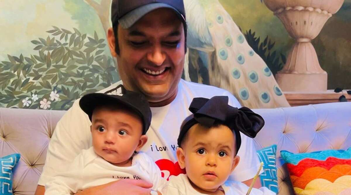 Kapil Sharma comparte la primera foto de sus hijos en el Día de los Padres