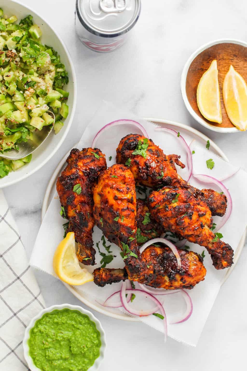Air Fryer Tandoori Chicken 2