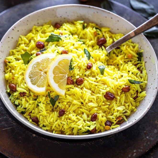South Indian Lemon Rice Recipe 500x500 1